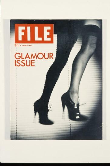General Idea. FILE Megazine, The Glamour Issue, Autumn 1975. Image courtesy AA Bronson