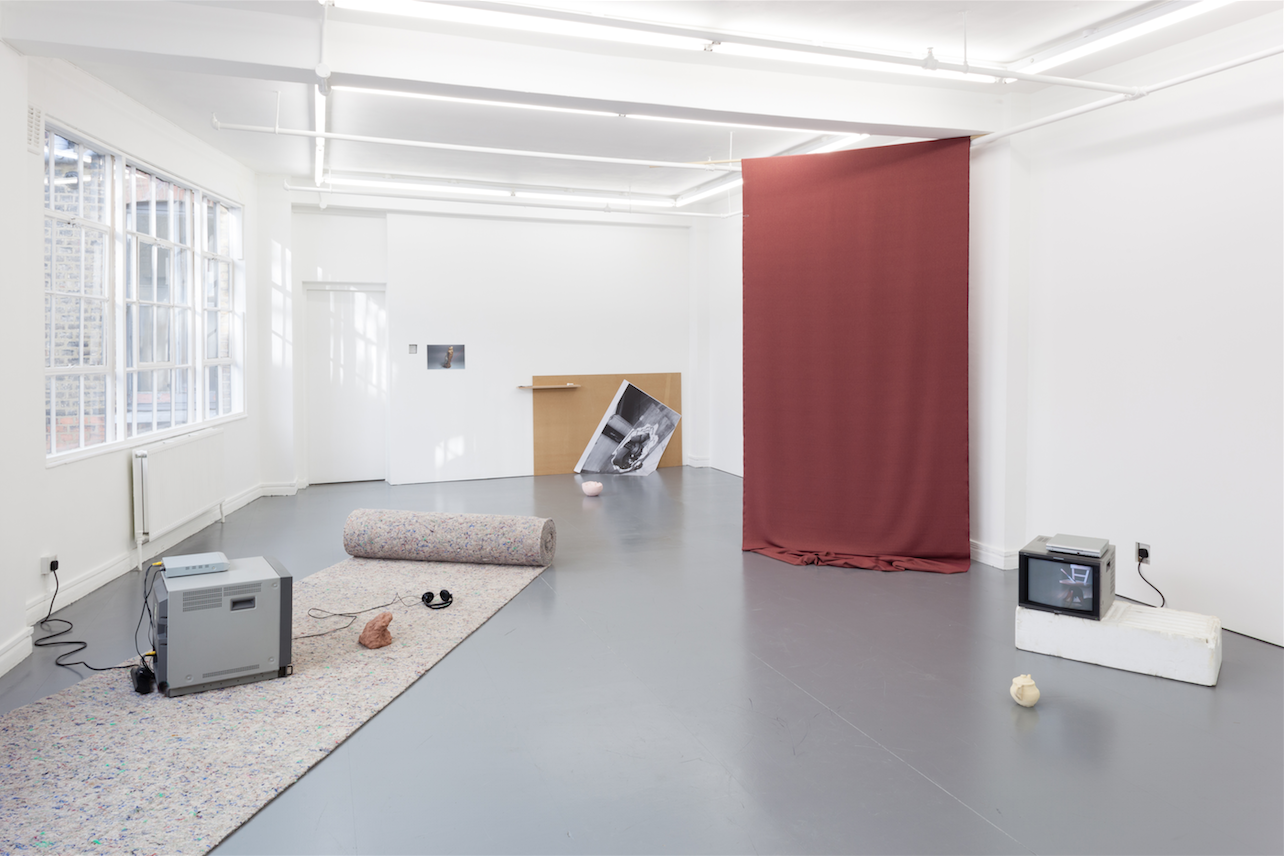Francesco Pedraglio 'Frank!', 2012, installation view, Rowing, London. Photography by Plastiques Photography. Courtesy Rowing Projects