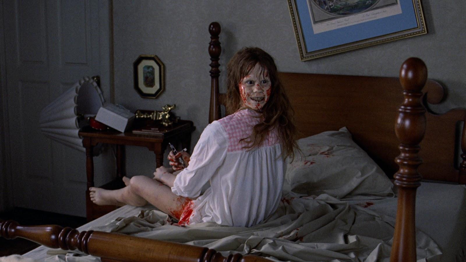 The Exorcist 2HERO MAGAZINE WEEKEND COMBO HALLOWEEN EXCORSIST MUSIC EAT LONDON DEATH JAKE GYLENHALL DONNIE DARKO ART HOGARTH