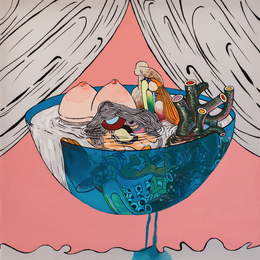 HaYoung Kim 'Modern Soup' 2014. Courtesy the artist