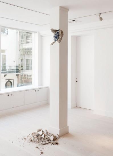 Shan Hur 'Broken Pillar' 20-12. Courtesy the artist and Gazelli Art House