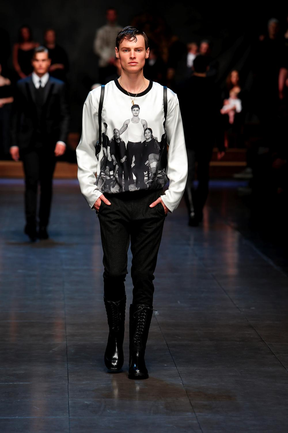 Dolce and Gabbana hero FW15-0072