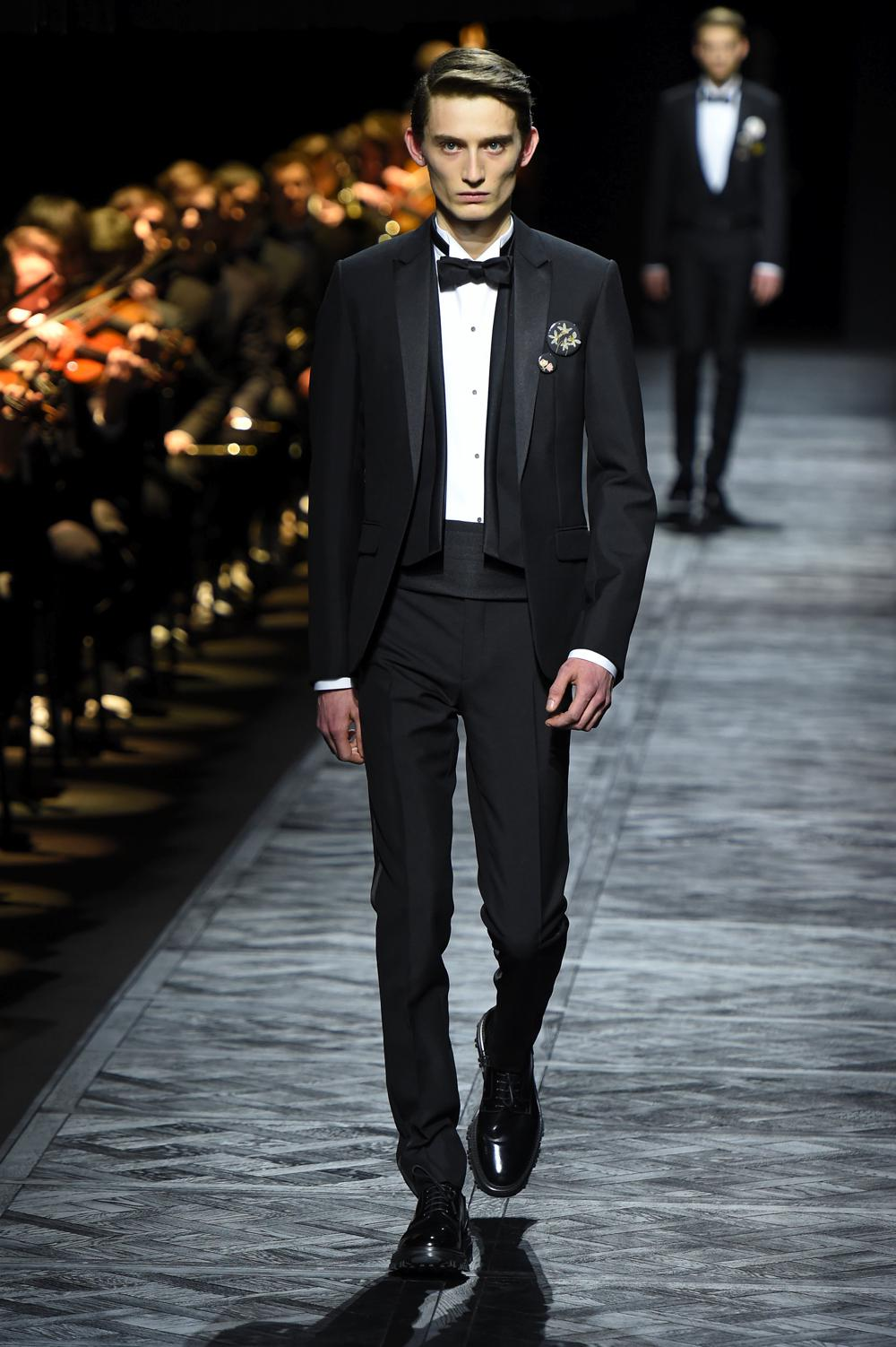 Dior Homme FW15 Look 1