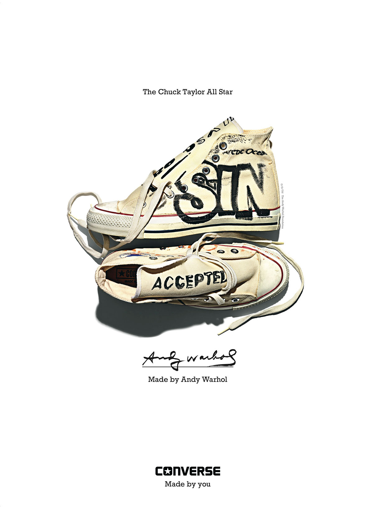 590efec3a66a Converse launches new campaign starring Patti Smith and Andy ...