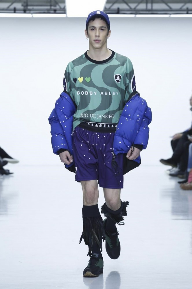 Bobby Abley Design Fashion Show, Menswear Collection Fall Winter 2016 in London