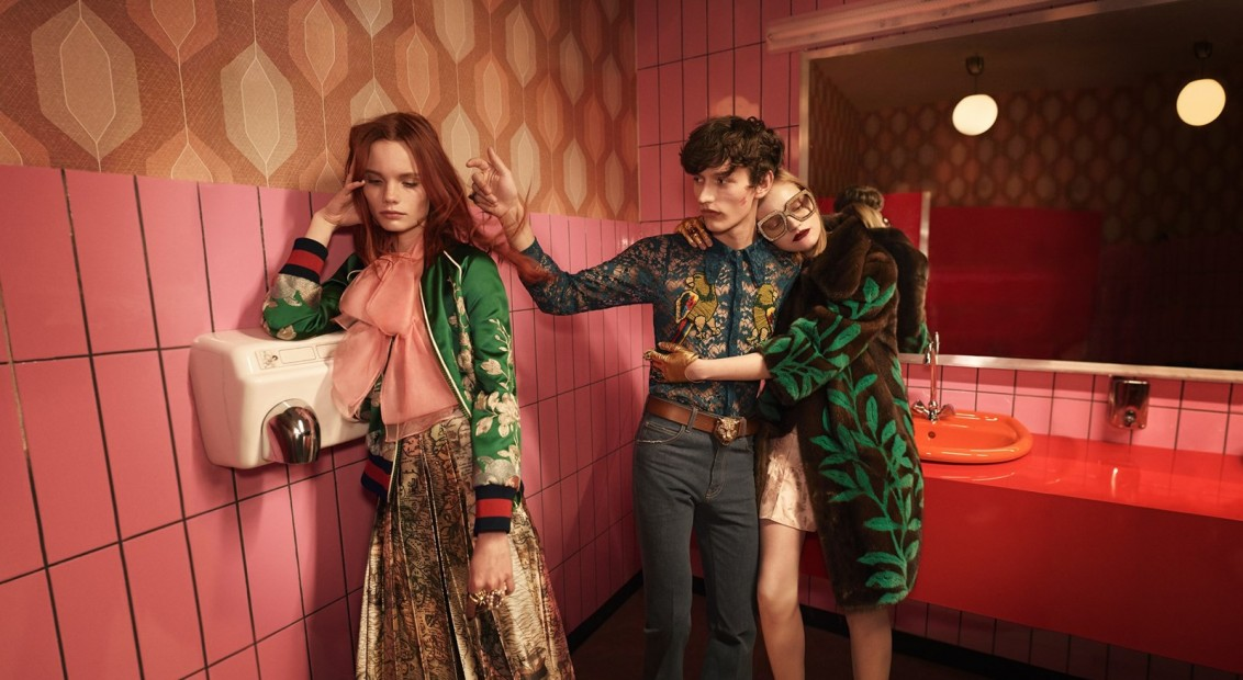 04bc7d1e92c Alessandro Michele brings his whimsical vision to Gucci s SS16 campaign