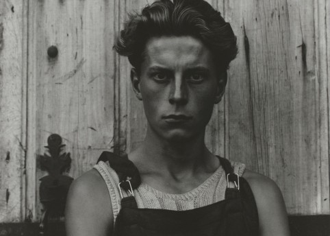 Young Boy, Gondeville Charente, France, 1951. © Paul Strand Archive, Aperture Foundation
