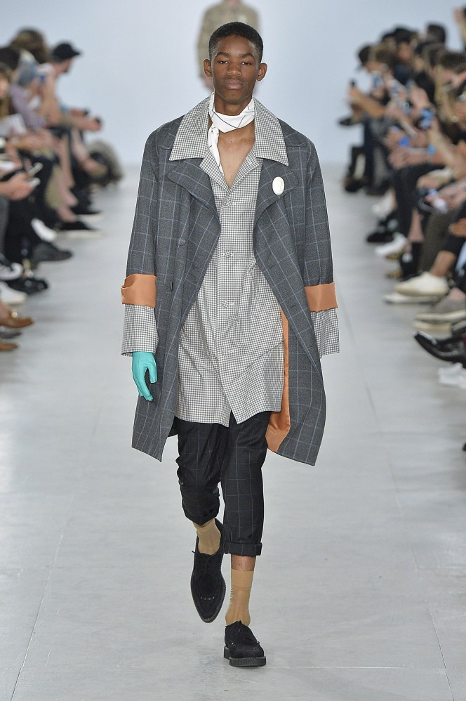 Agi & Sam Spring Summer 2017 London Menswear Fashion Week  Copyright Catwalking.com 'One Time Only' Publication Editorial Use Only