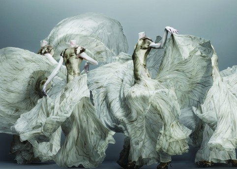 'Alexander McQueen Savage Beauty' exhibition at the V&A  2015. © Victoria and Albert Museum, London