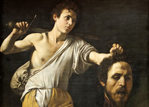 David with the Head of Goliath by Caravaggio (1607)
