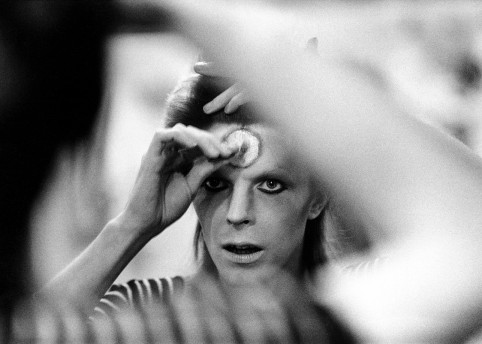 David Bowie, photography Mick Rock