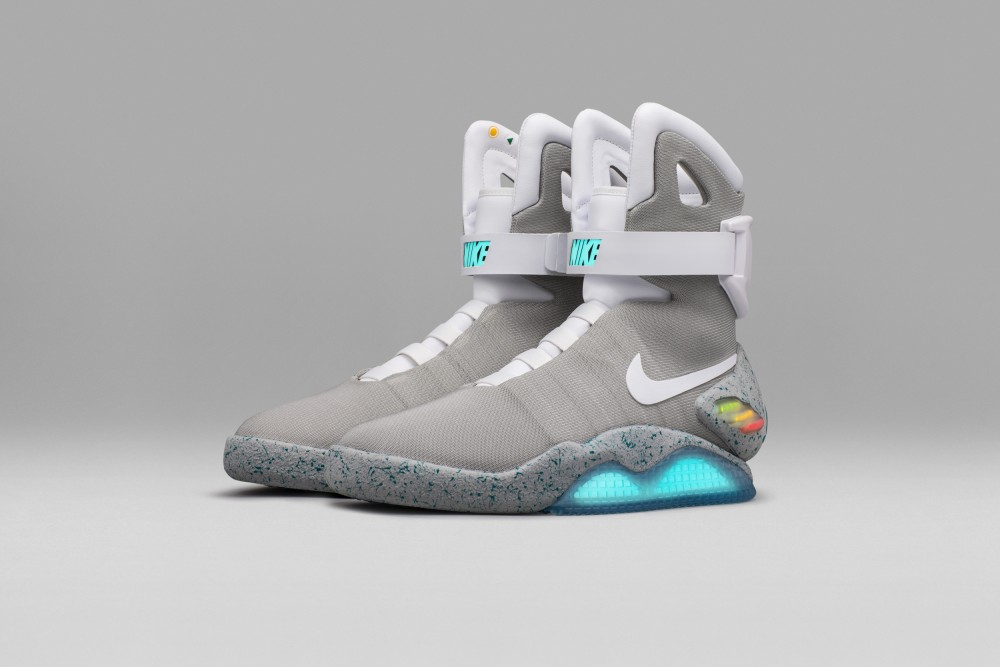 Marty McFly's self-lacing Nike Mags