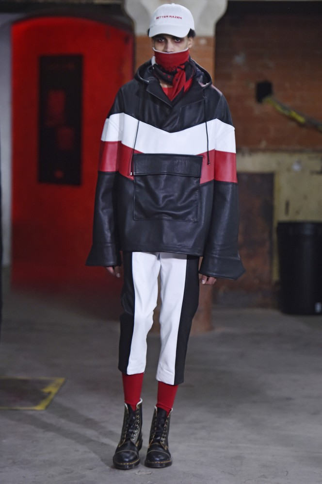 Agi & Sam Fall Winter 2017 London Menswear Fashion Week  Copyright Catwalking.com 'One Time Only' Publication Editorial Use Only