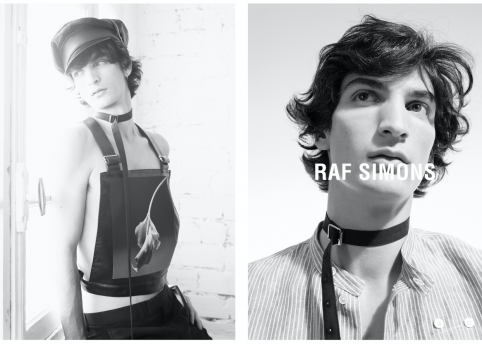 Raf Simons SS17. Photography by Willy Vanderperre
