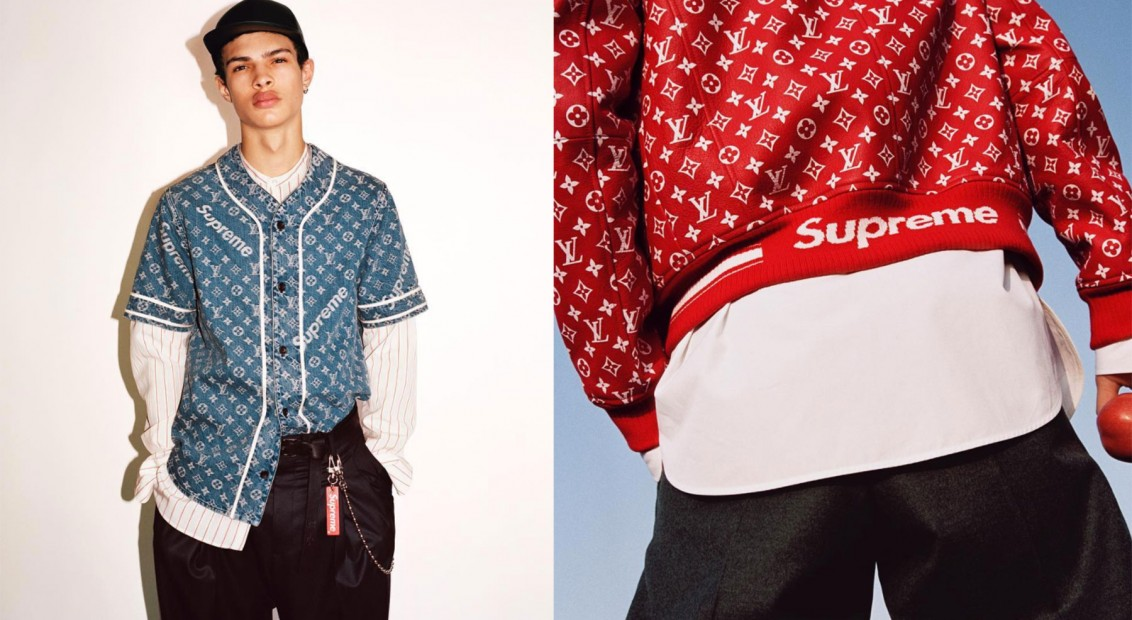 c1940d83420 It s official  Louis Vuitton has collaborated with Supreme
