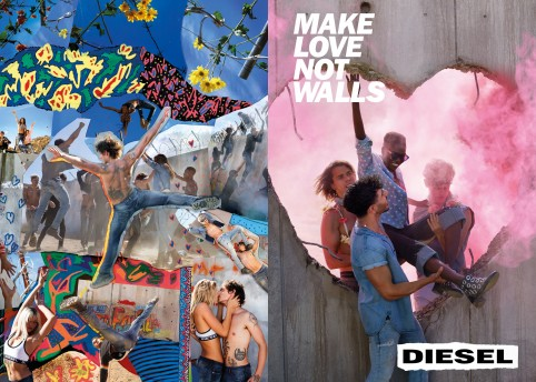 Diesel SS17. Photography by David LaChapelle