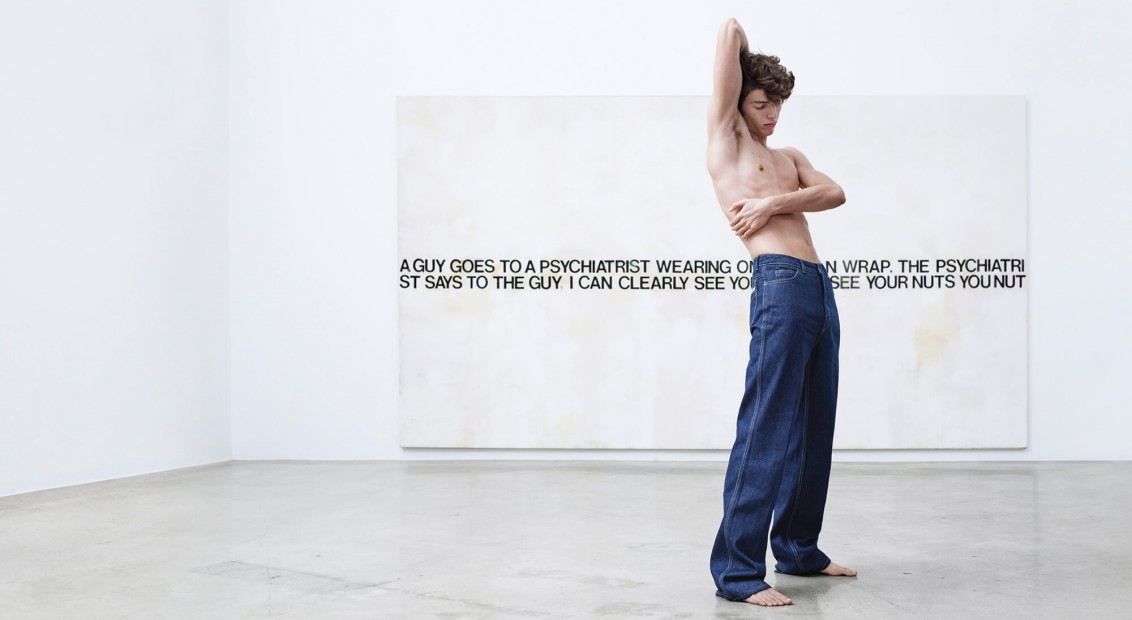 74d86848bc2 See Raf Simons  arty debut campaign for Calvin Klein