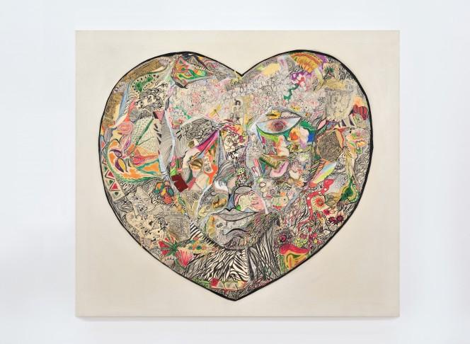 Niki de Saint Phalle, Copyright Niki de Saint Phalle, Le Coeur © 2017 Niki Charitable Art Foundation, All rights reserved. Photo courtesy Galerie Mitterand