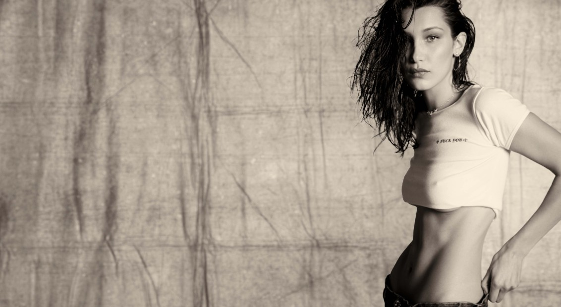 cae309d529b Bella Hadid talks us through her collection for Chrome Hearts