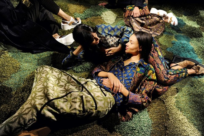 Dries Van Noten WSS15. Photo by Patrice Stable