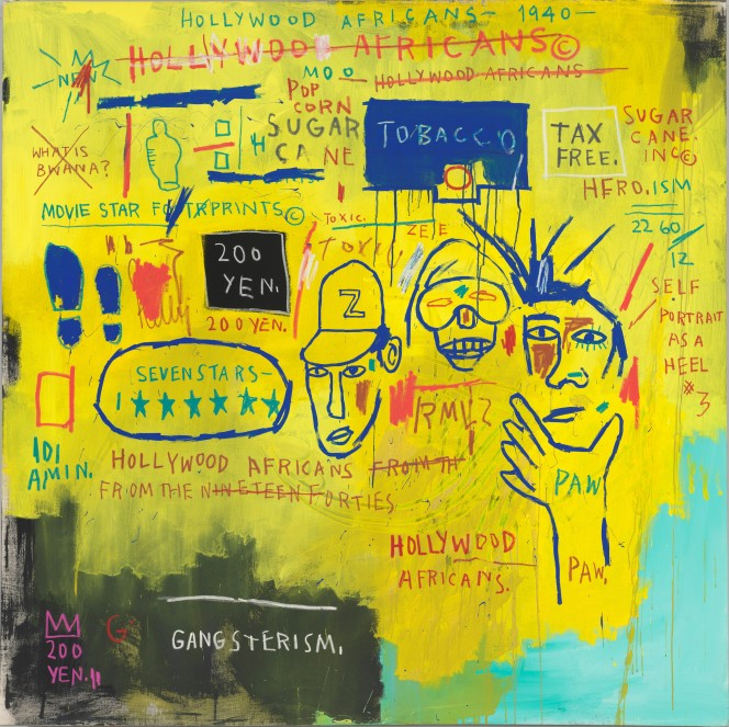 Jean-Michel Basquiat, Hollywood Africans, 1982