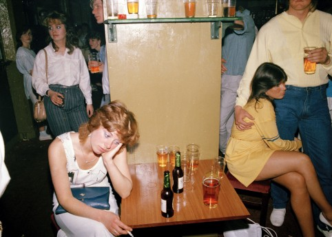 Tired drink picture,1986 by Tom Wood