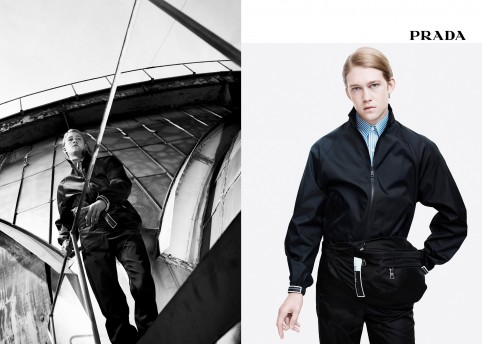 Prada Menswear SS18 Campaign by Willy Vanderperre