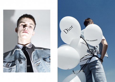 DIOR HOMME Spring 2018 by Alessio Bolzoni