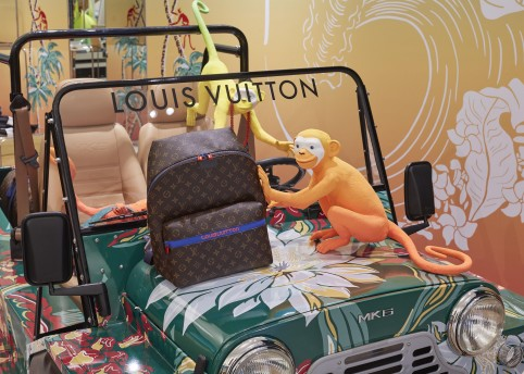 Louis Vuitton pop-up at Selfridges