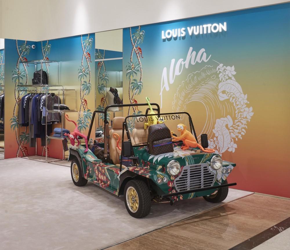 5e4fc8bae4 Peek inside Louis Vuitton s Hawaii-themed Selfridges pop-up
