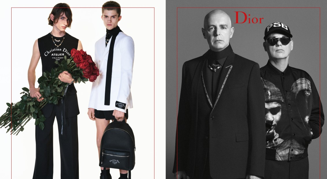 Pet Shop Boys front the new Dior Homme SS18 campaign   HERO magazine  A  fresh perspective f1b6cd28c286