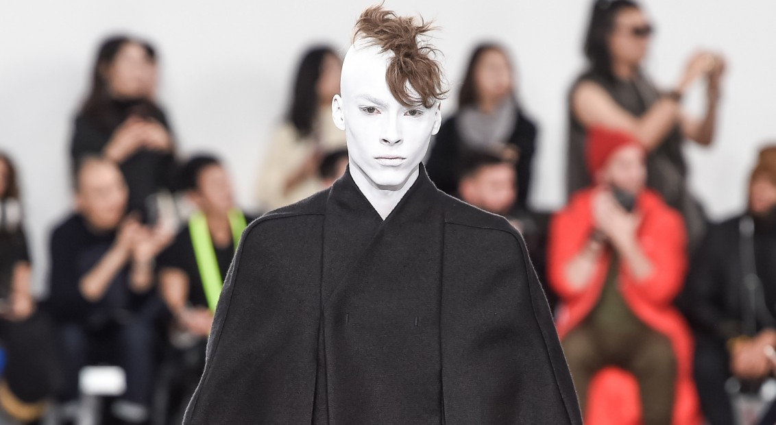 Rick Owens Menswear Fall Winter 2018 Collection Paris Fashion Week