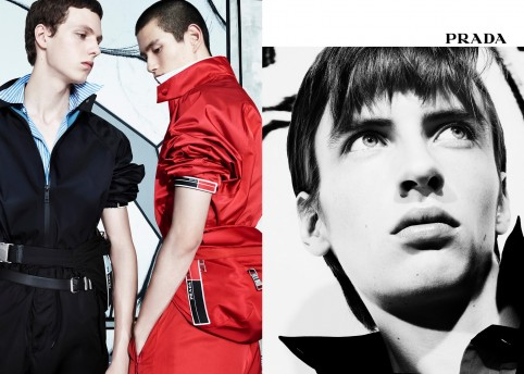 Prada SS18 Men's, Real Life Comix, by Willy Vanderperre