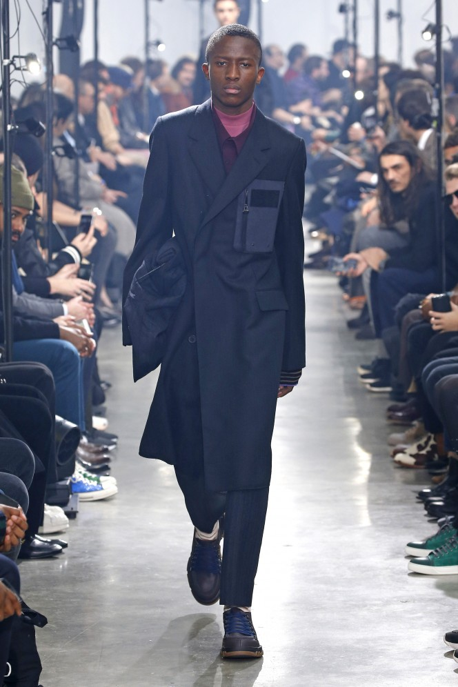 Lanvin  menswear fall winter 2018_2019 Paris january 2018