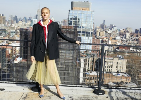 Adwoa Aboah photographed by Juergen Teller for Burberry c Courtesy of Burberry_Juergen Teller_001