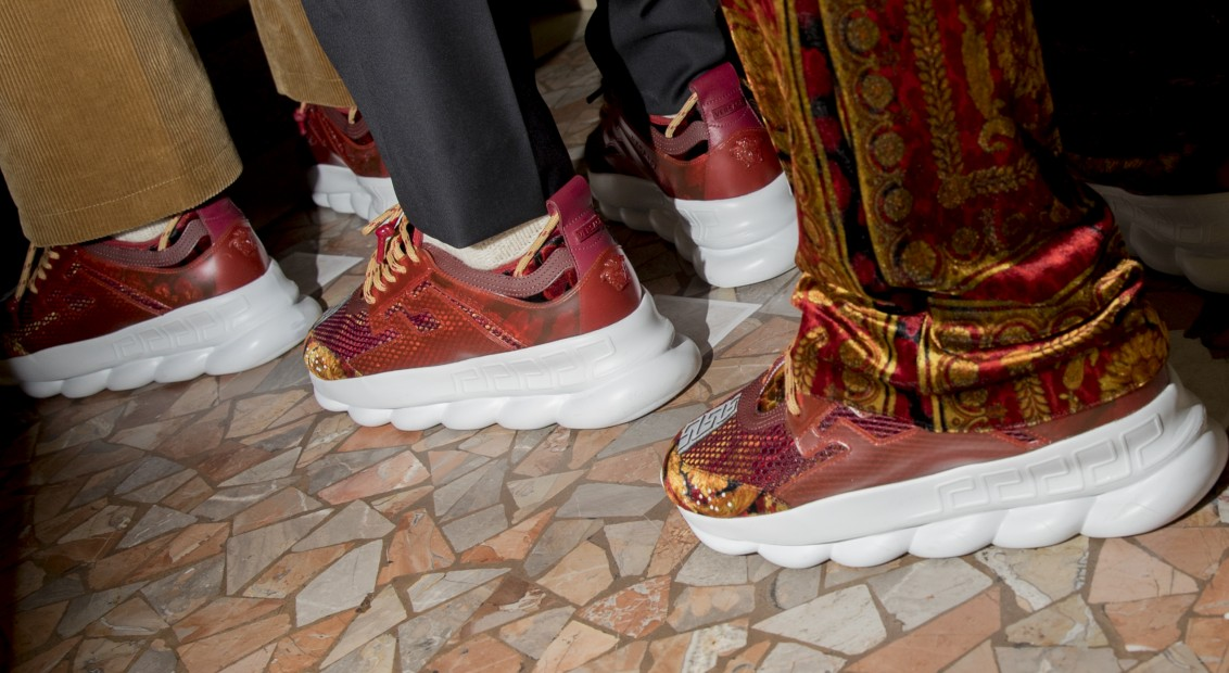 05915d8ae4c7d5 Those major FW18 Versace x 2 Chainz collab trainers are finally here ...