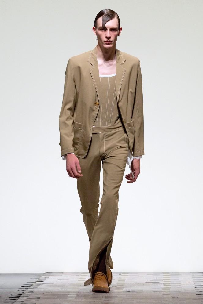 Daniel W. Fletcher Catwalk - London Fashion Week Men's SS19