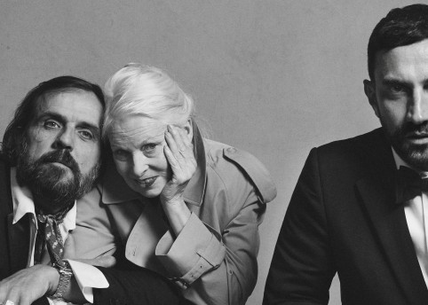 Portrait of Riccardo Tisci, Vivienne Westwood and Andreas Kronthaler c Courtesy of Burberry_ Brett Lloyd_002