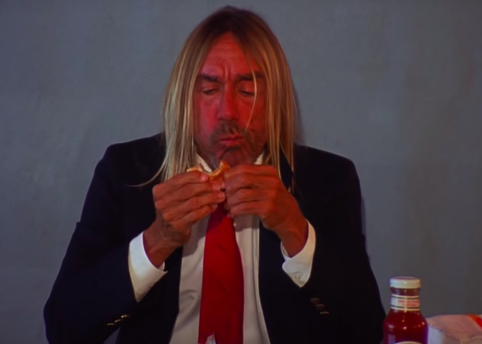 IGGY POP HAMBURGER - HERO