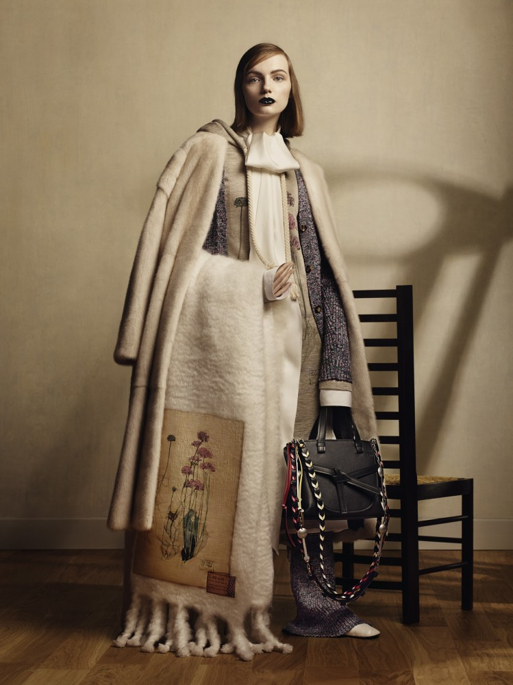 Loewe Pay Tribute To The Father Of Art Nouveau In This Latest Collection Hero Magazine A Fresh Perspective