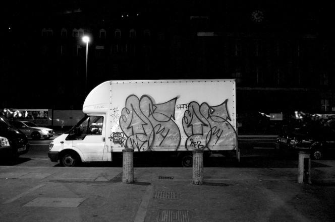 The Graffiti Trucks of London 1