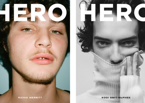 HERO 20 cover – Richie Merritt and Kodi Smit-McPhee
