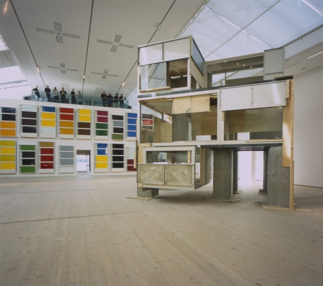 Pedro Cabrita Reis, installation view, BALTIC Centre for Contemporary Art. Photo. John McKenzie