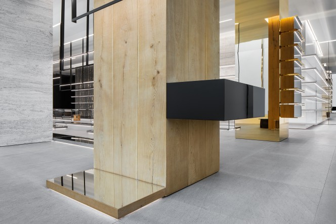 Hedi Slimane opens his first Celine store, featuring specially