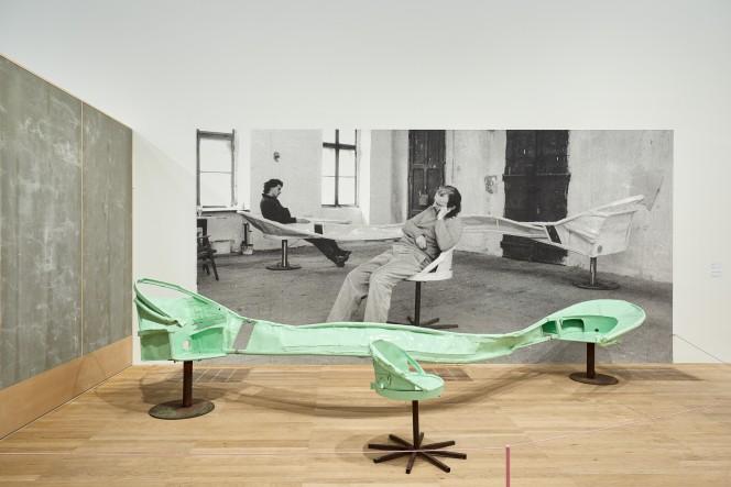Eo Ipso, install view of Franz West at Tate Modern 2019. Photo Luke Walker