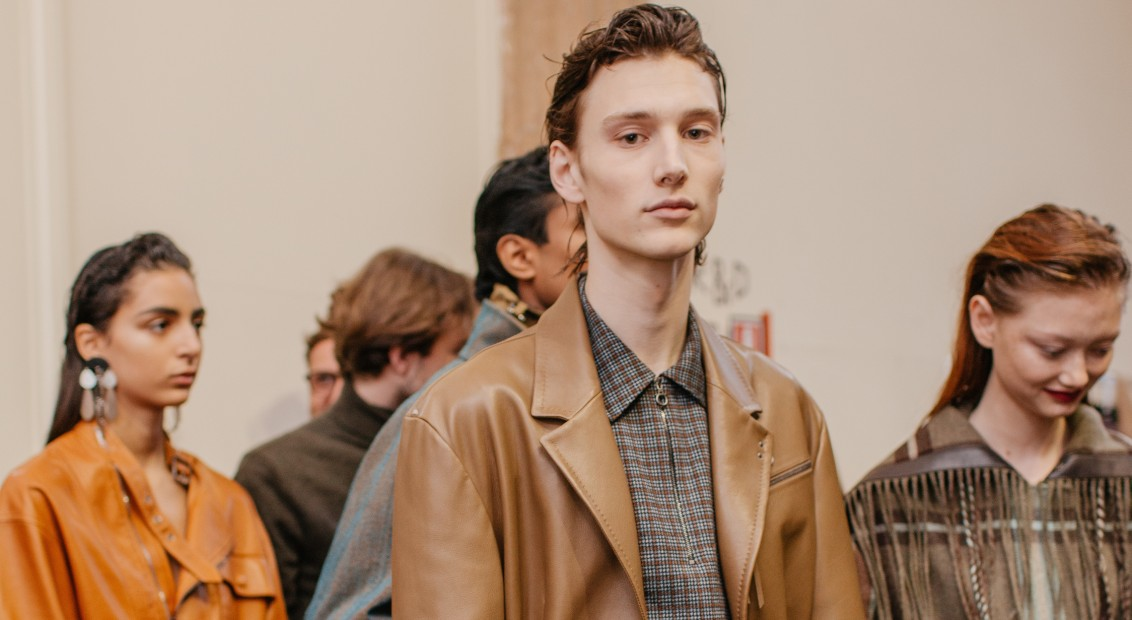 Salvatore Ferragamo is showing its SS20 menswear collection