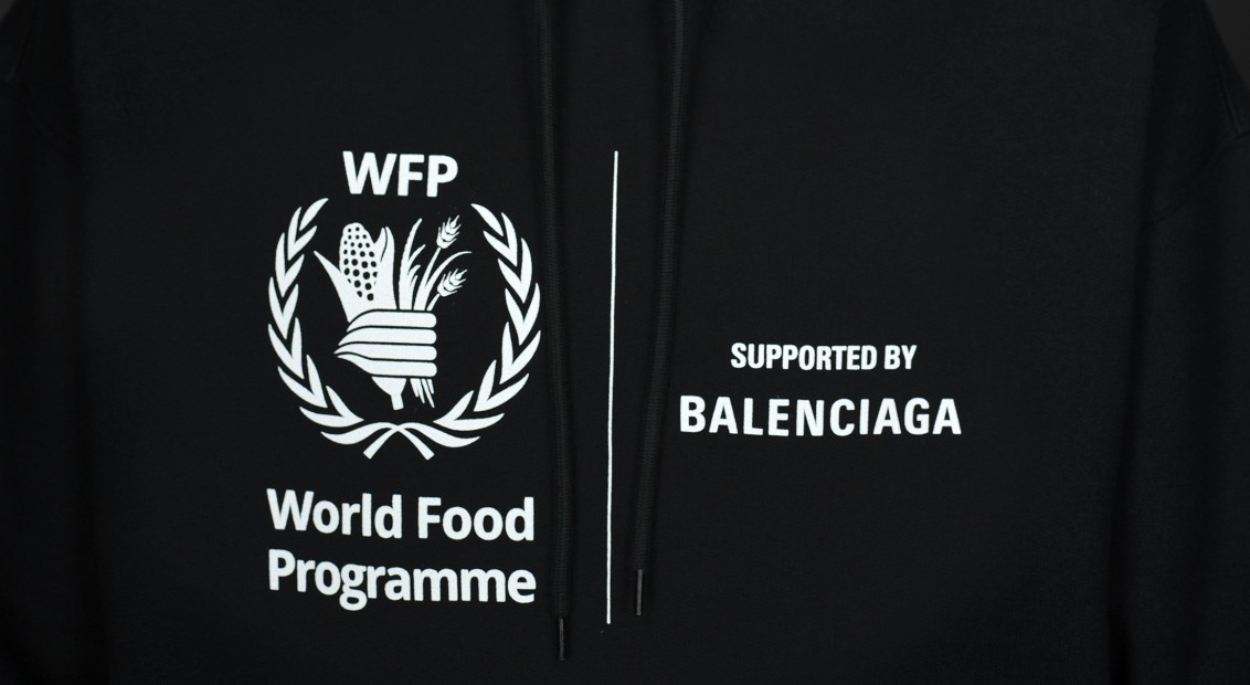Balenciaga Reveals Its Second Collaboration With The World Food Programme Hero Magazine A Fresh Perspective