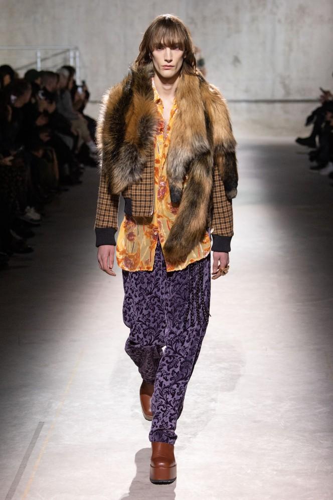 Men s wear, fall winter 2020 2021, fashion week, menswear, Paris, Dries Van Noten