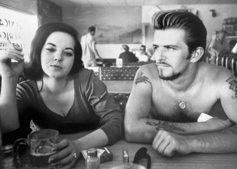 Biker Couple (1961) © Dennis Hopper Trust; courtesy of Fahey/Klein Gallery, Los Angeles