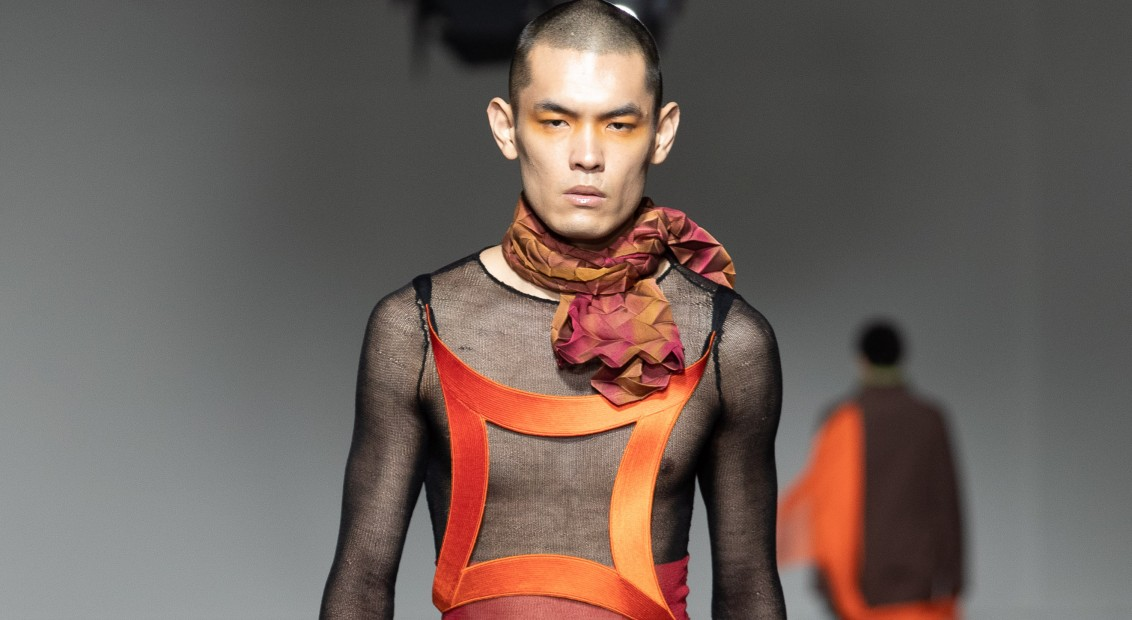 London Fashion Week Autumn Winter 2020 - Fashion East Goom Heo
